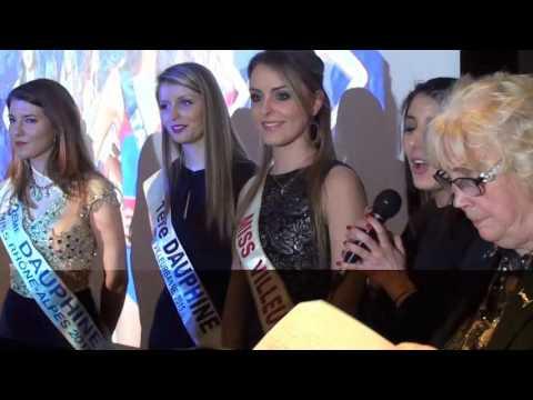 Comité Miss Rhône-Alpes vœux 2016 (vidéo B)