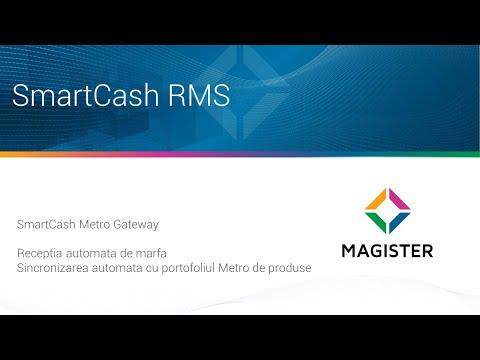 Receptia automata de la Metro in SmartCash RMS