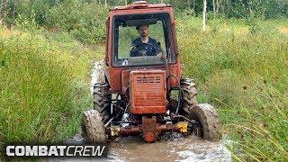Турбо-трактор: Первые метры спустя много лет! Часть 3