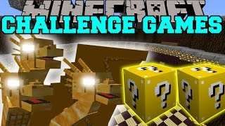 Minecraft: KING GHIDORAH CHALLENGE GAMES - Lucky Block Mod - Modded Mini-Game