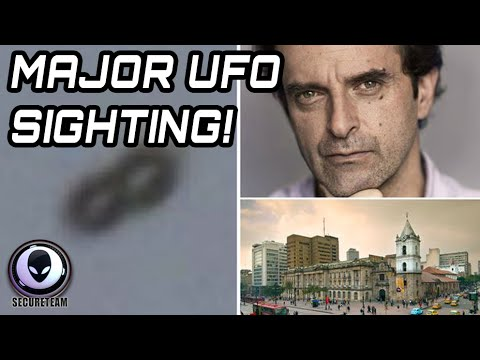 NEWSPAPER EDITOR CAPTURES SHAPE-SHIFTING UFO! BEST UFO SIGHTING 2015