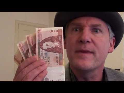 A Counterfeit $10,000 Note from Colombia