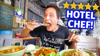 5 Star MARRIOTT HOTEL Chef Cooks STREET FOOD!! 🦑  Crispy Garlic Squid - Out Of This World!!