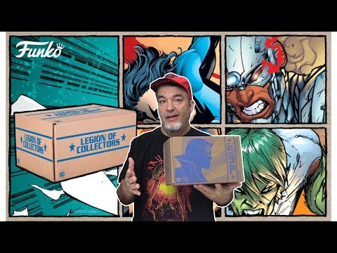 """Subscription Boxes: Legion of Collectors """"Teen Titans"""" Unboxing and Review!"""
