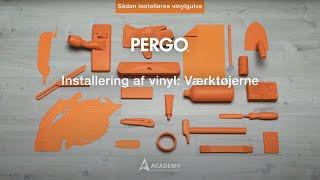 Installering af vinyl: værktøjerne