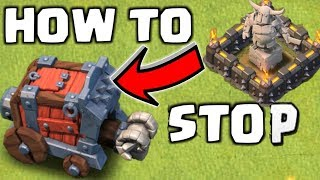 HOW TO STOP Wall Wrecker NO MOVE - COC VN Channel
