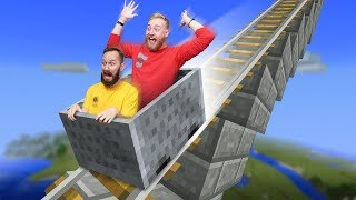 Building a Roller Coaster! | Minecraft Build Off [Ep 22]