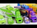 New Disney Cars 3 Hauler Thunder Hollow And Piston Cup Racers mp3