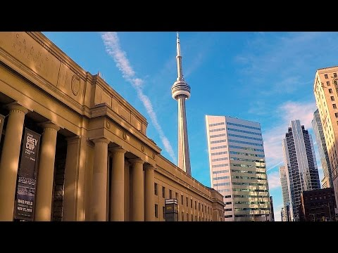 TORONTO, CANADA: 1080p Downtown Video Tour