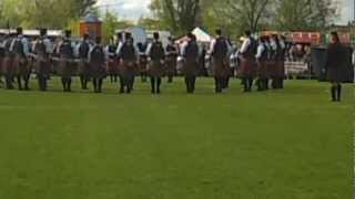 Field Marshal Montgomery Pipe Band - Ards 2012