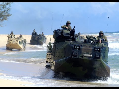 Breaking USA Military Fort Bragg Explosion Camp Pendleton Amphibious Vehicle Fire September 2017
