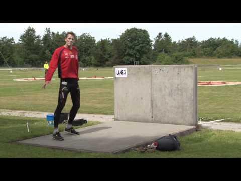 NM Militær Femkamp 2012 - 3. Del - Forhindringsbanesvømning Og Håndgranatkast
