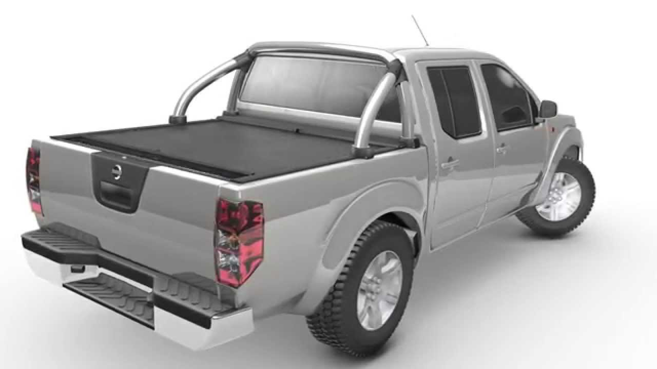 Beautiful Roll N Lock Retractable Truck Bed Cover   Nissan Frontier / Navara   YouTube