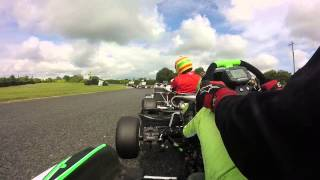 msi rd 7 athboy karting centre heat 1 kz2 onboard