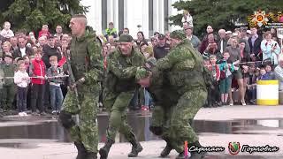 Празднование Дня Победы в Горловке