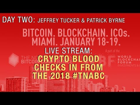 LIVE @ The North American Bitcoin Conference: Jeffery Tucker & Overstock CEO Patrick Byrne