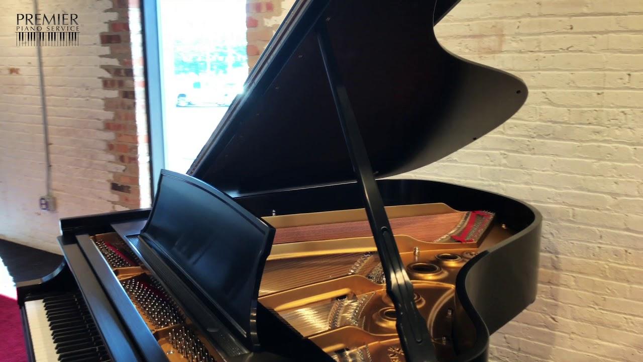 1966 Steinway Model L Grand Piano | Satin Ebony Finish