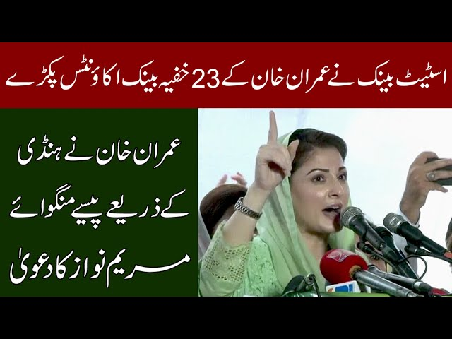 PM Received Illegal Money Through Fake Bank Account: Maryam