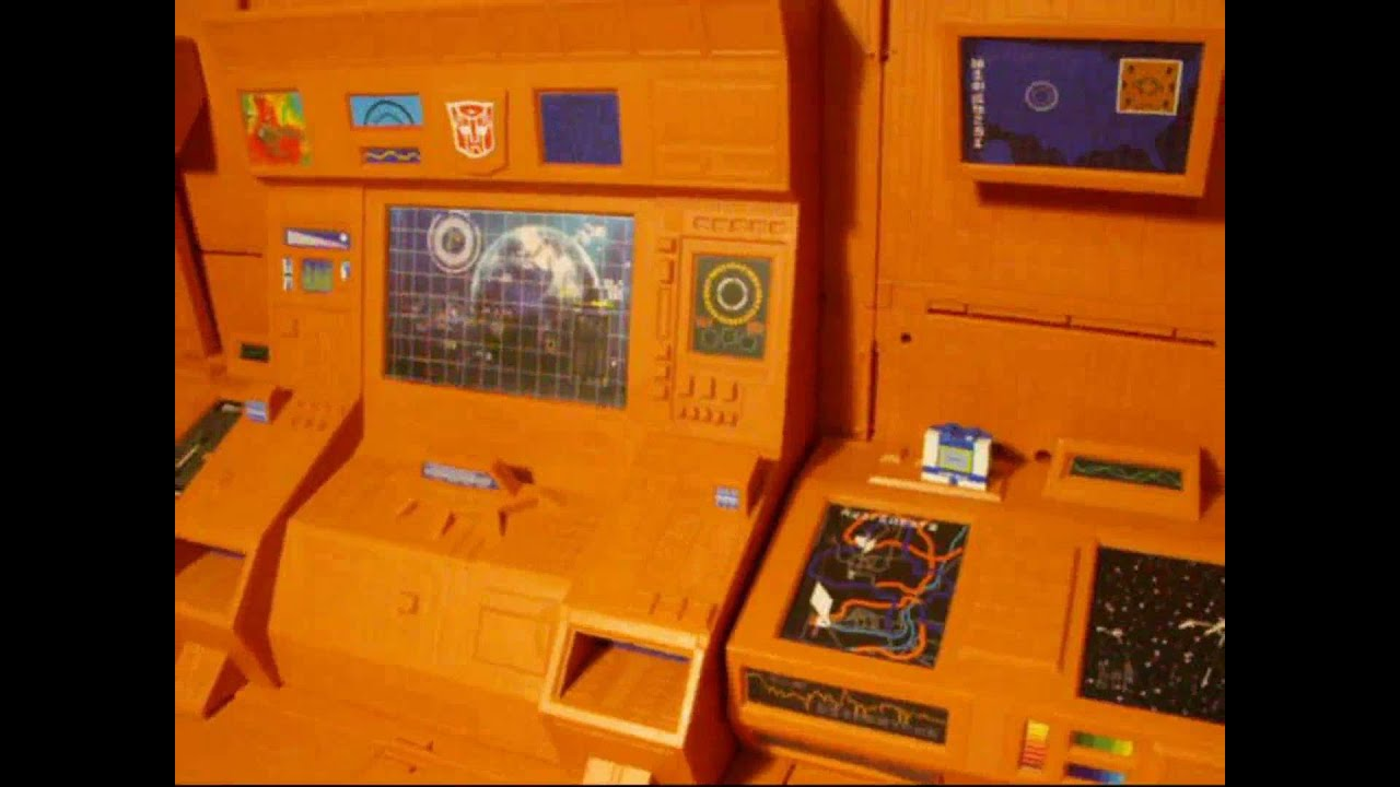 igear tf007 computer control center aka autobot hq