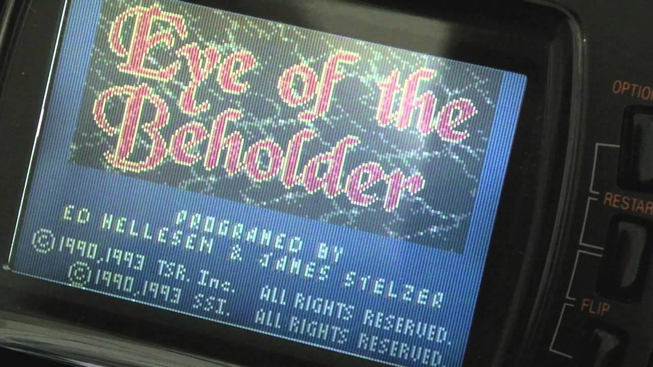 Atari Lynx Eye of the Beholder (Complete Unreleased Game)