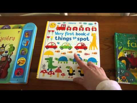 Best Usborne Board Books for Babies and Toddlers!!