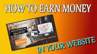 How To Earn Money From Tribaladnetwork in Your Website Hindi/Urdu Part 2/2 Tutorial Akmal Pardasi