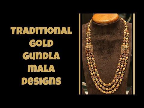120 Exclusive Traditional Gundla Mala Designs