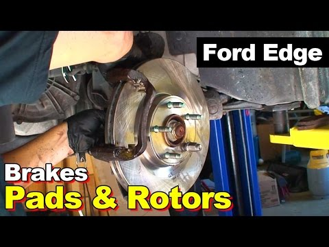 2009 Ford Edge warped front brake rotors and pads