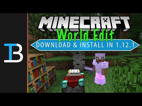How To Download & Install World Edit In Minecraft 1.12.2 Single Player