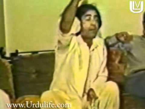 Ubaid_Ullha Aleem in a private mehfil.