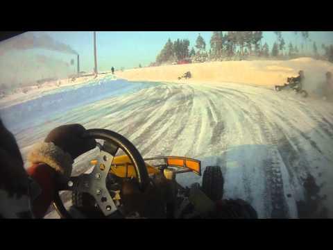 видео: Зимний картинг г. Реж 19.12.10