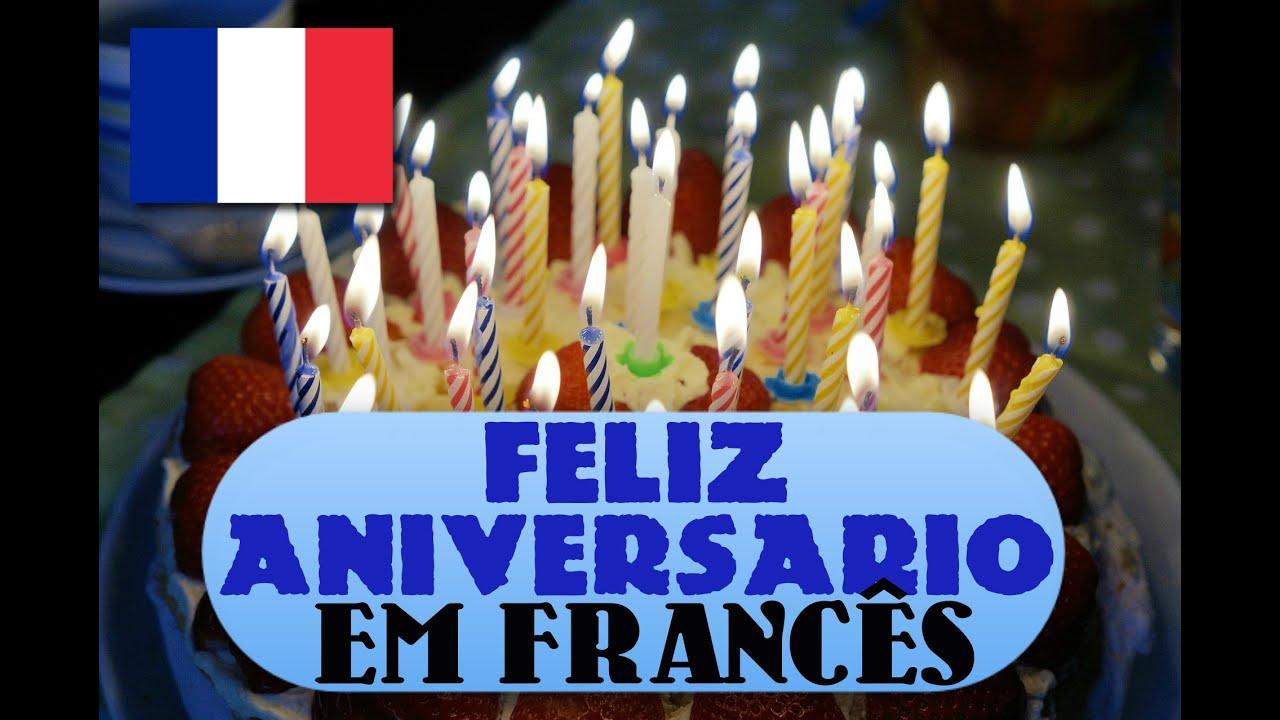 Parabéns Pra Você Em Francês