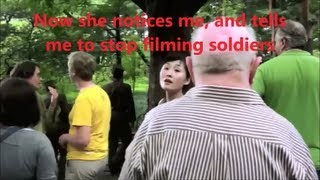 North Korea - Guide tells me to stop filming (DPRK)