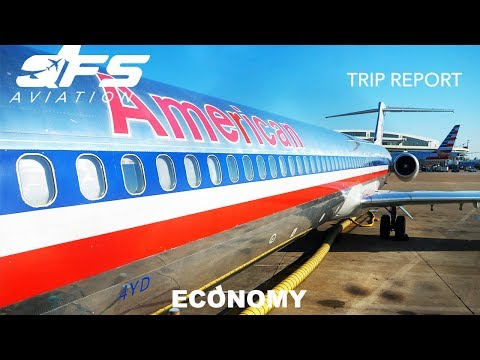 TRIP REPORT   American Airlines - MD 83 - Dallas (DFW) To New Orleans (MSY)   Economy