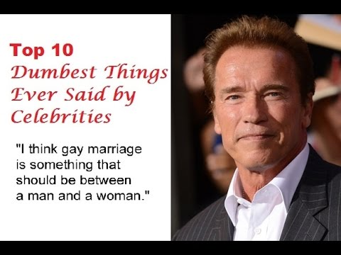 25 Insanely Dumb Celebrity Quotes You Won't Believe Were ...