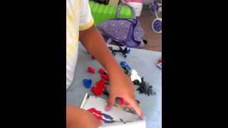 Building Lego Captain America Set 4597(1)
