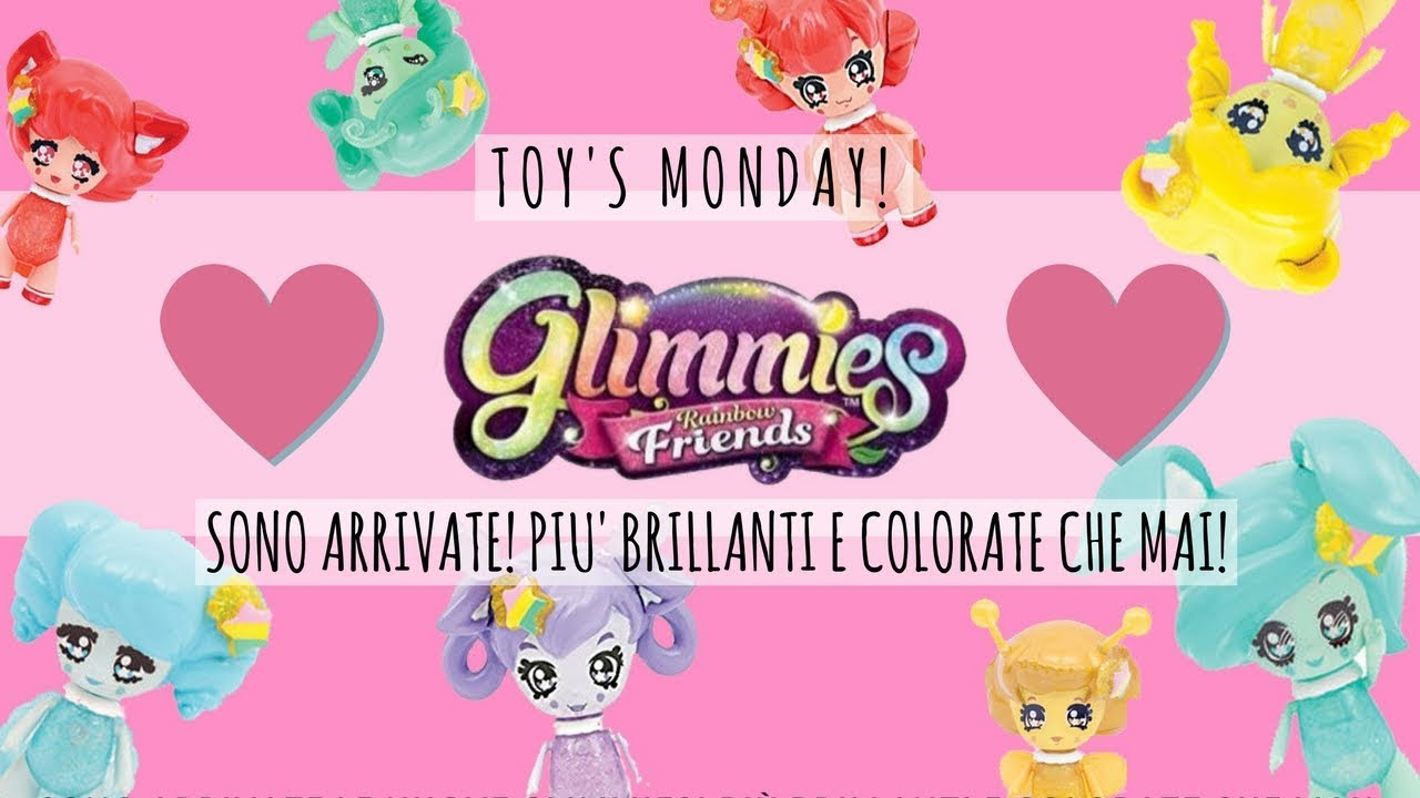 Nuove Glimmies Rainbow Friends Toys Monday Youtube