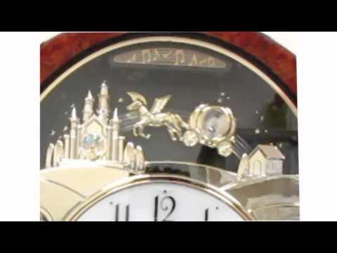 Rhythm Princess Fantasy Musical Motion Wall Clock 4MH862