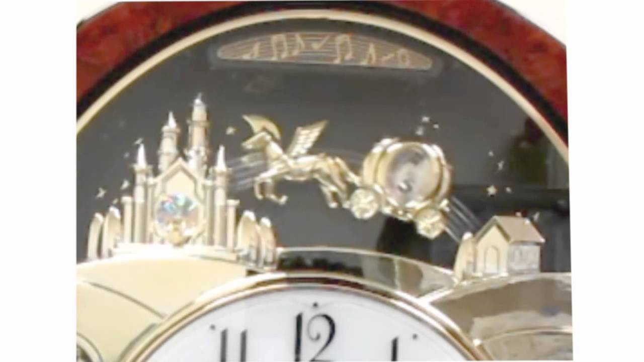 Rhythm princess fantasy musical motion wall clock 4mh862 youtube amipublicfo Images