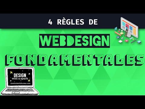 4 Règles de Webdesign Fondamentales