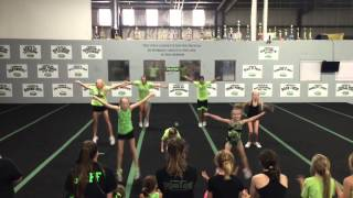 Green Bay Fusion All Stars - Kids Made Up Routines - Green Bay Wi