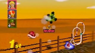 Mario Kart 64 150cc All Cups (Skips) Shortcut Speedrun 25:46 (World Record)