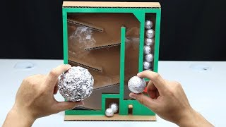 How to Make Japanese Foil Ball Vending Machine