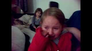 2 Year Old Tilly Crying For Justin Bieber
