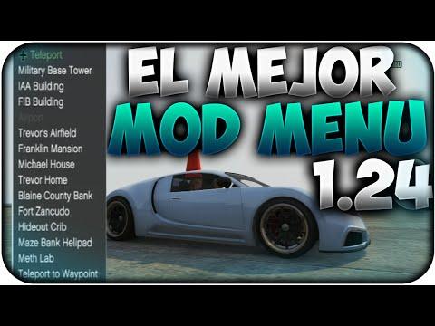 DESCARGAR - EL MEJOR MOD MENU GRATIS VERSION 1.25 / 1.26 GTA V ONLINE LA MEJOR Y MAS COMPLETA