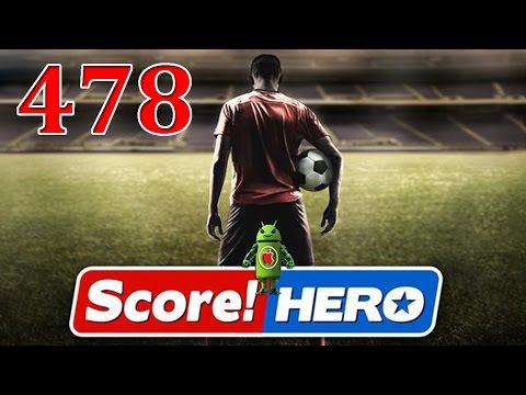 Score Hero Level 478 Walkthrough - 3 Stars