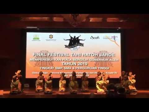Ratoh Jaroe SMAN 6 Tangerang Selatan [Final Piala Bergilir Gubernur Aceh 2019]