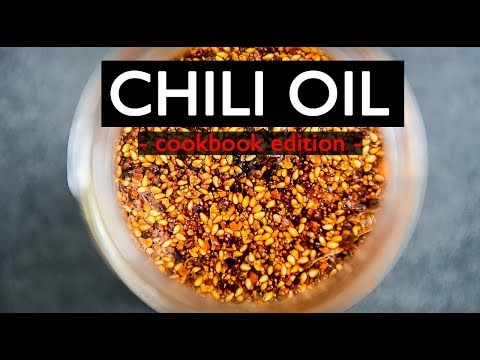 HOW TO MAKE CHILI OIL | COOKBOOK EDITION | CHINESE SPICY SMOKEY OIL (中国辣椒油)
