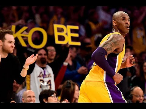 finest selection 7df5c 879c2 Relive Kobe Bryant s MAGICAL 60-Point Farewell On Mamba Day. Bleacher Report