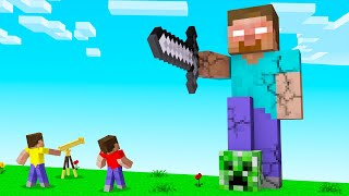 DISCOVERING THE HEROBRINE STATUE In Minecraft! (Insane)